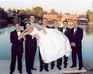 bride at the lakes 5