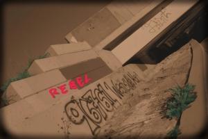 Graffetti on Bridge-3
