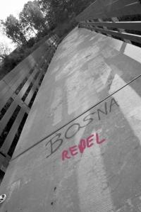 Graffetti on Bridge