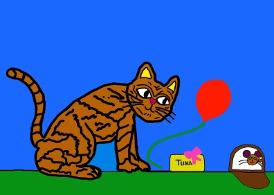 06 B-day cat & mouse 1