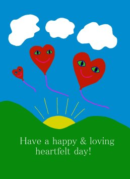 13 Happy hearts II
