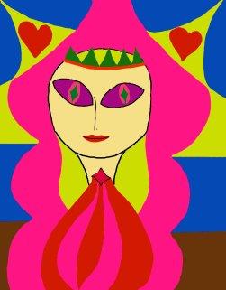 31 Angel eyes painted