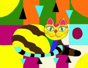 47 Psychedelic kitty II