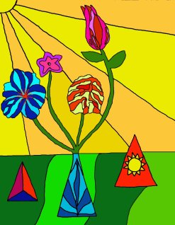 53 Flowers in the Sun I