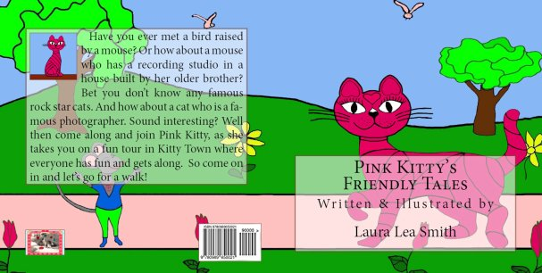 Pink Kitty's Friendly Tales Cover