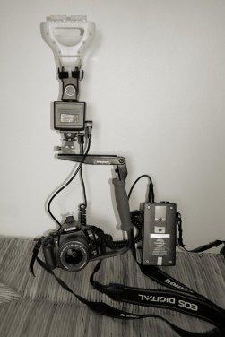 camera flash set up 1