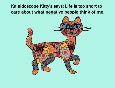Kaleidoscope Kitty 1
