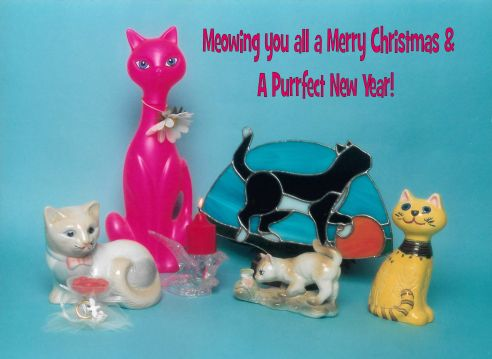 The Cat Gathering Christmas