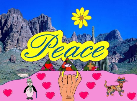 The Peace drawing